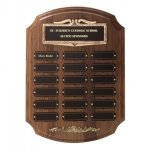 Bronze Framed Perpetual Plaques Employee Awards