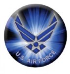 Ball Marker Air Force Patriotic Awards