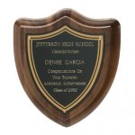 Classic Shield Plaque Sales Awards